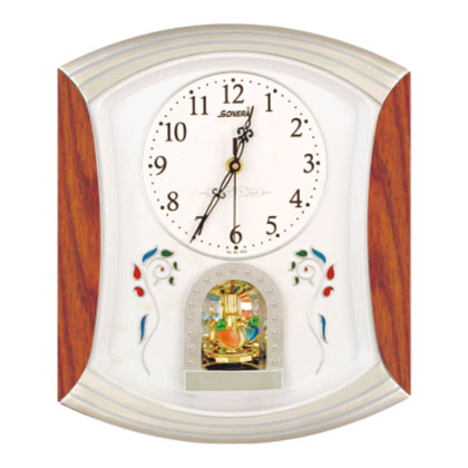 Rotation Clock With Sweep Moment Sonera Industries