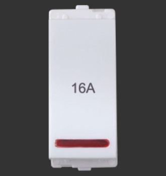 1 way switch with indicator